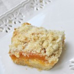 Apricot Almond Crumb Bars