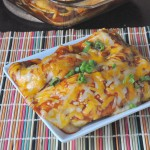Cheese and Bean Enchiladas by The Mommy Games
