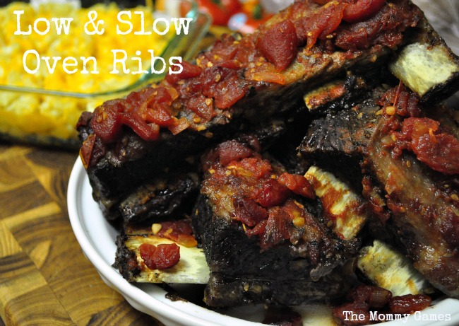 Low & Slow Oven Ribs