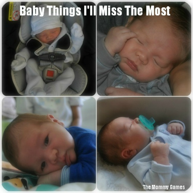 Baby Things I'll Miss the Most by The Mommy Games
