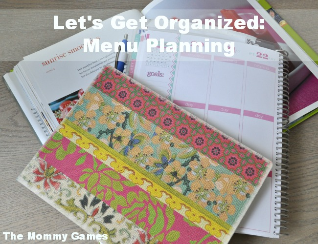 Menu Planning by The Mommy Games