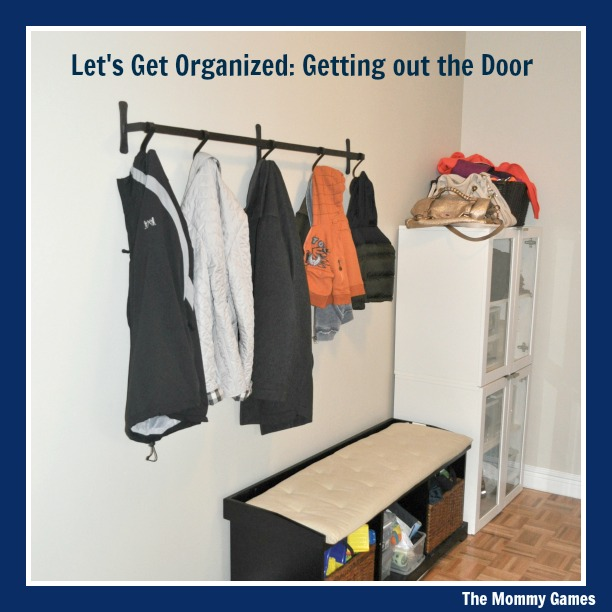 Let's Get Organized Getting out the Door by The Mommy Games