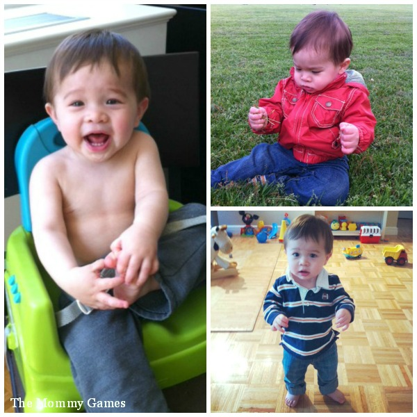 Rylan 14 Months Collage by The Mommy Games