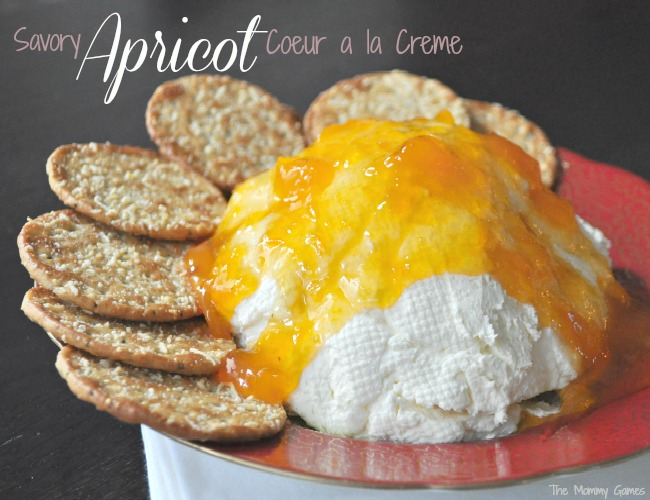 Savory Apricot Coeur a la creme by The Mommy Games
