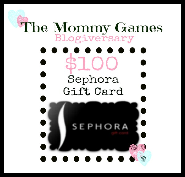 $100 Sephora Giveaway by The Mommy Games