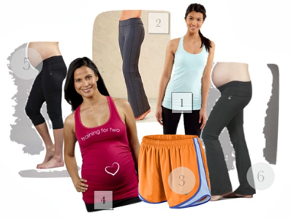 Hot Mama Maternity Workout Wear