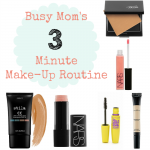 Busy Moms 3 Minute Make-Up Routine {The Mommy Games}